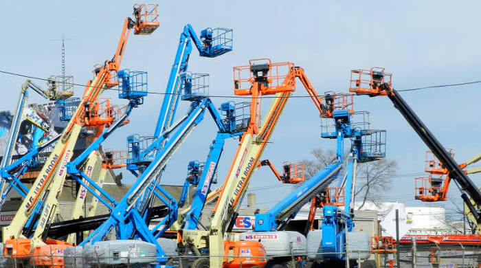 Used Boom Lifts in Massachusetts